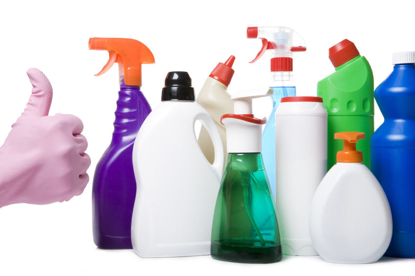 Easy DYI Cleaning Supplies