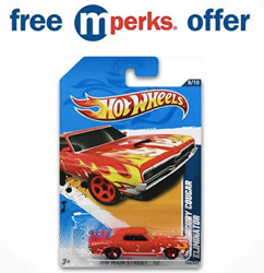 Meijer Stores: Free Hot Wheels Basic Diecast Car
