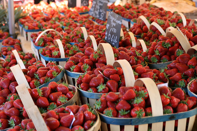 Try buying in season fruit to help save