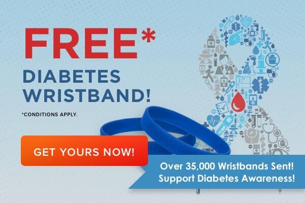 FREE Diabetes Bracelet Awareness