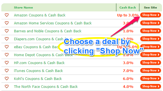 swagbucks choose your deal