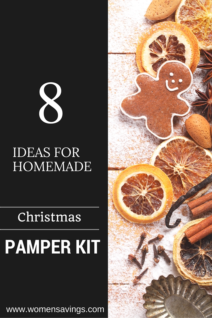 Christmas Pamper Kit – Treat the Women in your Life with this Customizable Home-Made Pamper Kit
