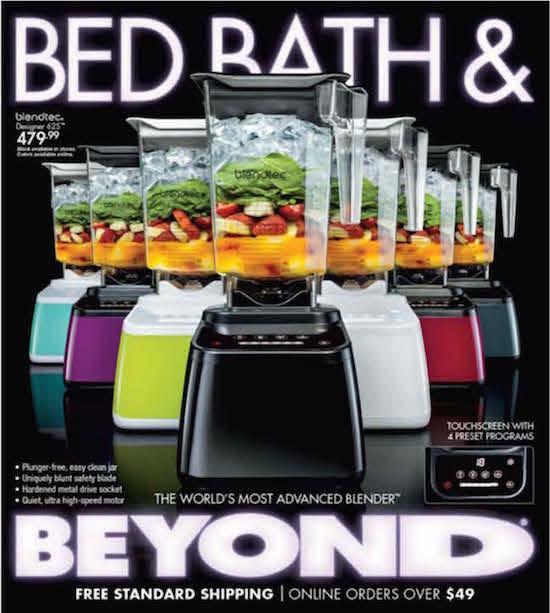 Weekly Circular Ad Bed Bath and Beyond