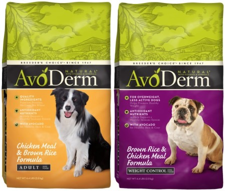 FREE AvoDerm Natural Dry Dog Food + $0.01 Moneymaker at PetSmart