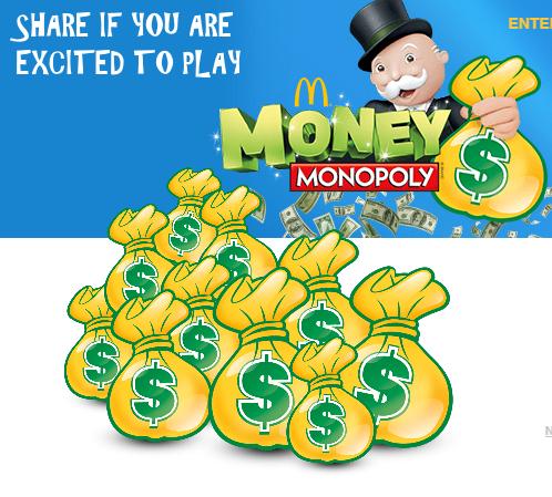 Mcdonals Monopoly Game Instant Win