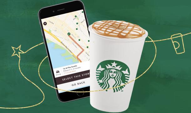 Starbucks Reward Member: 3 Bonus Stars w/ Starbucks App Payment (March 21)