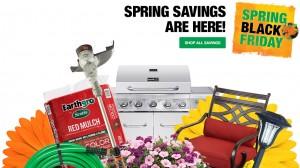 Spring Black Friday Sale at Home Depot
