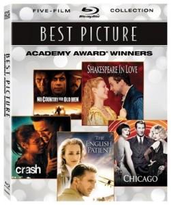 Five Best Picture Academy Award Winner Films on Blu-Ray – $14.50