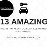 car saving money hacks