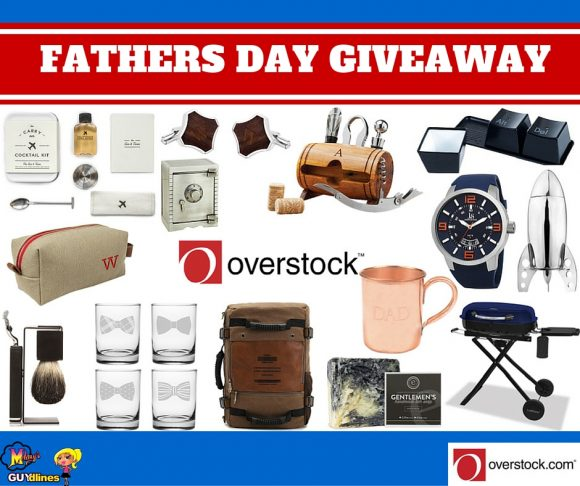 Father's Day $630 Overstock Gift Basket Giveaway