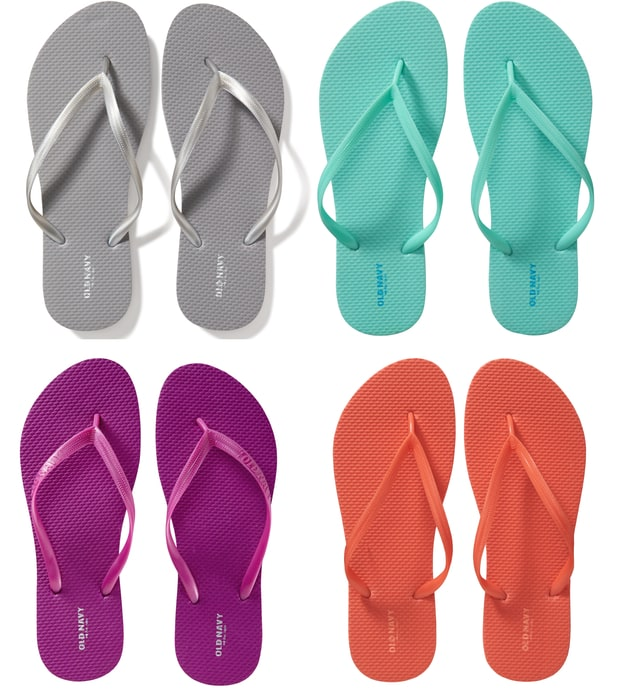 Old Navy: $1 Flip Flops Sale is Back (June 25th)