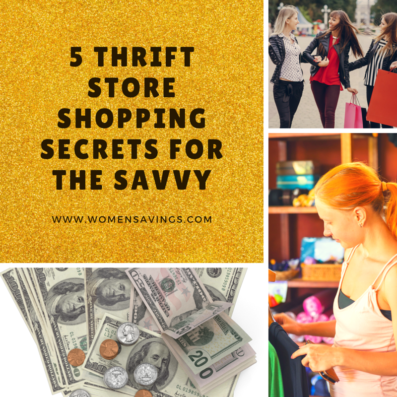5 Thrift Store Shopping Secrets for the Savvy