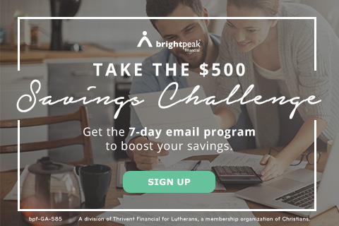 Take the $500 Savings Challenge