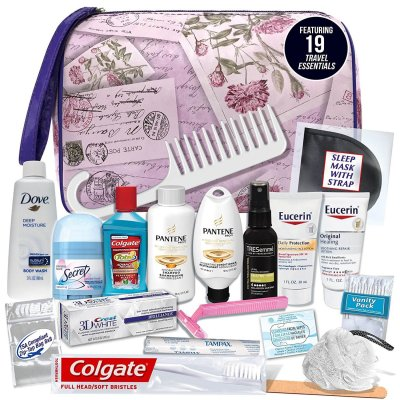 "TSA Compliant 19 Piece Travel ""Necessities"" Kit Giveaway!"