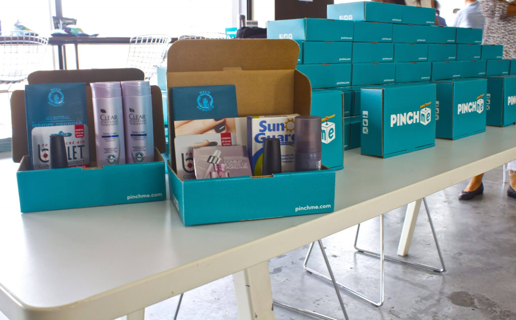 FREE Samples Box From PINCHme