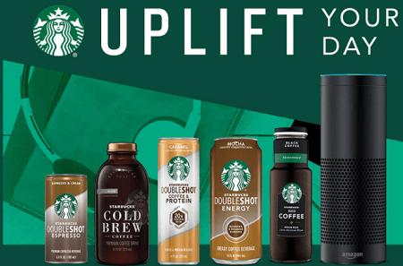 Starbucks Uplift Your Work Day Sweepstakes