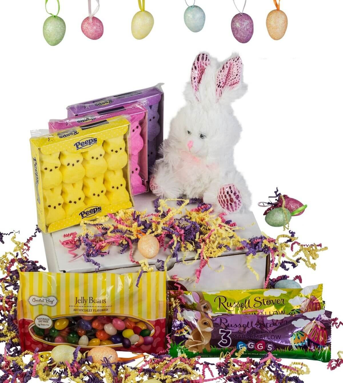 Premium Member Giveaway: Charmed Crates Easter Gift Basket – Bunny, Marshmallows, and Jelly Beans Gift Box Set