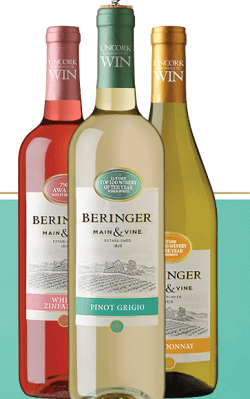 Beringer Main and Vine Wine Instant Win Game and Sweepstakes (9,851 Prizes)