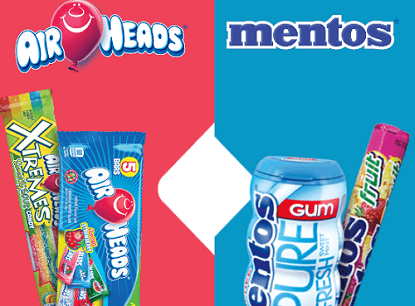Air Heads Mentos YouChews Summer Instant Win Game (Over 1,790 Winners)