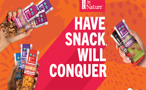 FREE Made in Nature Organic Non-GMO Snacks
