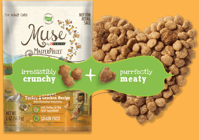 FREE Muse MasterPieces Cat Food Sample