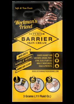 FREE Workman's Friend Barrier Skin Cream Sample