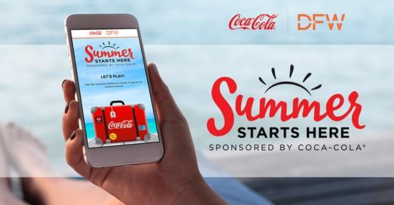 Coca-Cola and DFW Summer 2018 Sweepstakes & IWG