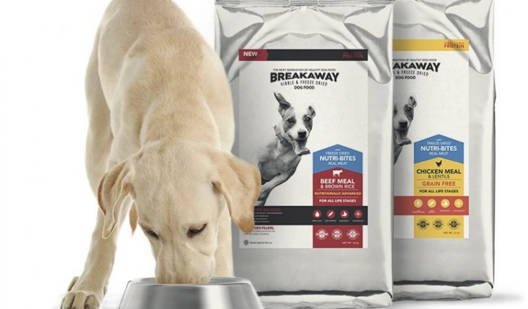 Free Sample of Breakaway Kibble for Dogs