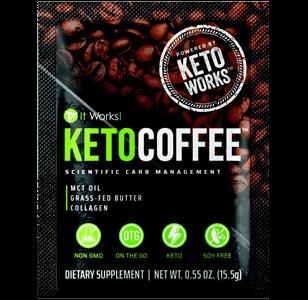 FREE It Works! Keto Coffee Sample