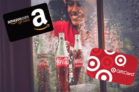 Coca-Cola Amazon & Target Instant Win Game (10,000 Winners)