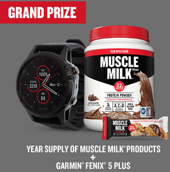 MUSCLE MILK Year of You Sweepstakes & Instant Win Game