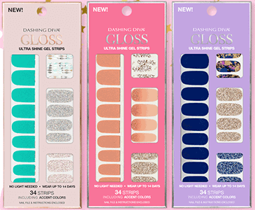 FREE GLOSS Ultra Shine Gel Strip Set Giveaway