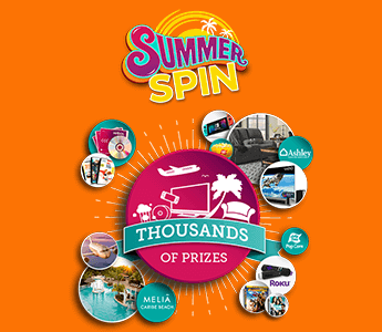 FREE 1-night DVD Rental Plus Summer Spin Instant Win Game