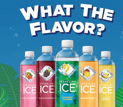 Sparkling Ice What The Flavor Sweepstakes (Over 500 Winners)