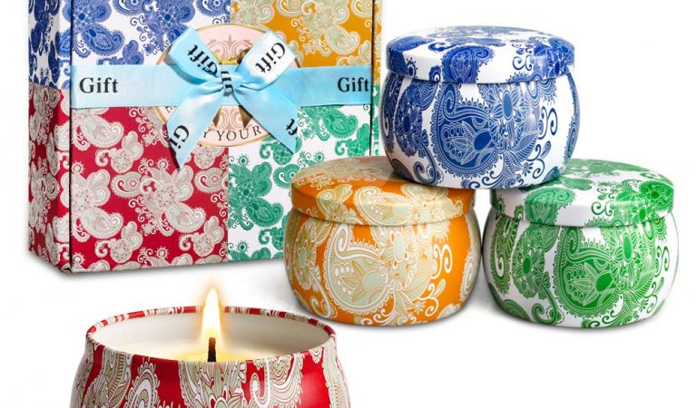 Scented Candles Gift Set Instant Win Game