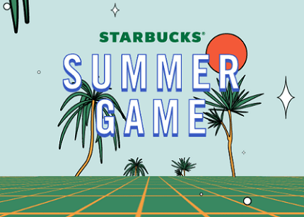 Starbucks Summer Game 2019 Instant Win Game and Sweepstakes