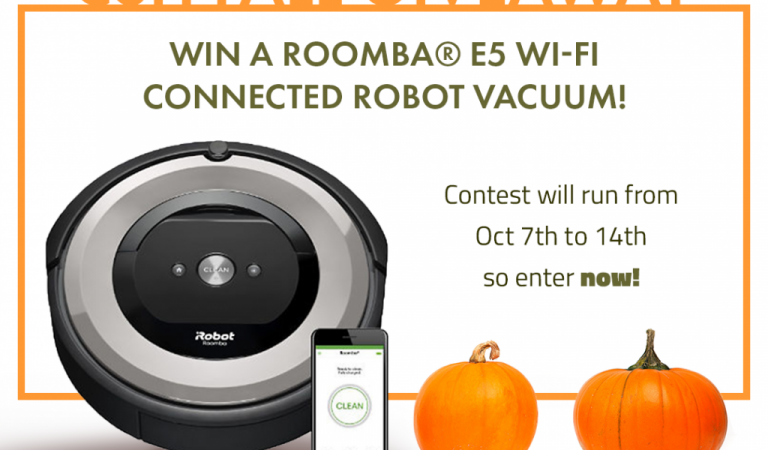 Roomba Vacuum Giveaway