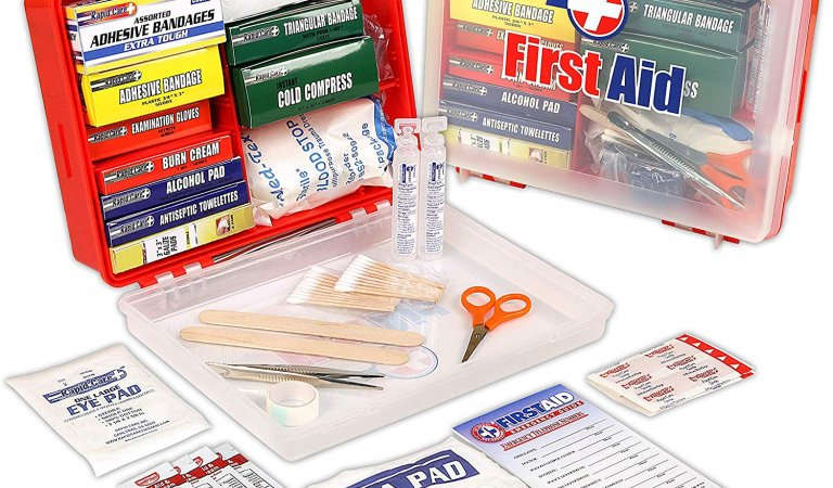 First Aid Kit Hard Red Case 326 Pieces Giveaway