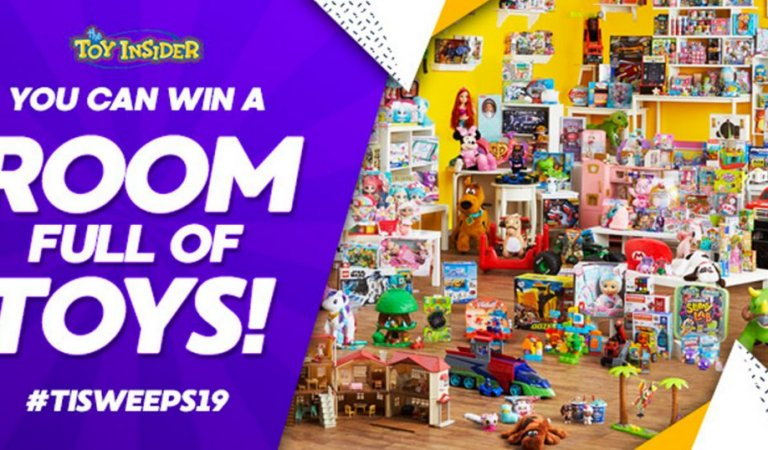 2019 Room Full of Toys Holiday Sweepstakes