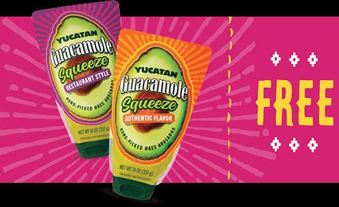 FREE Yucatan Guacamole Squeeze Product