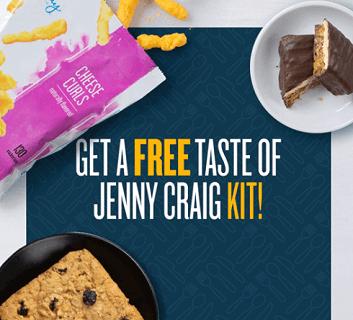 FREE Taste of Jenny Craig Snack Kit