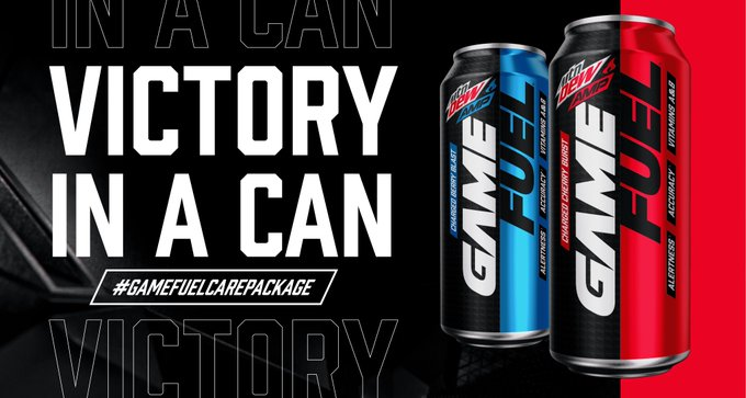 The MTN DEW AMP GAME FUEL Promotion (Twitter)