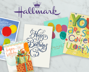 FREE 3-Pack of Hallmark Cards