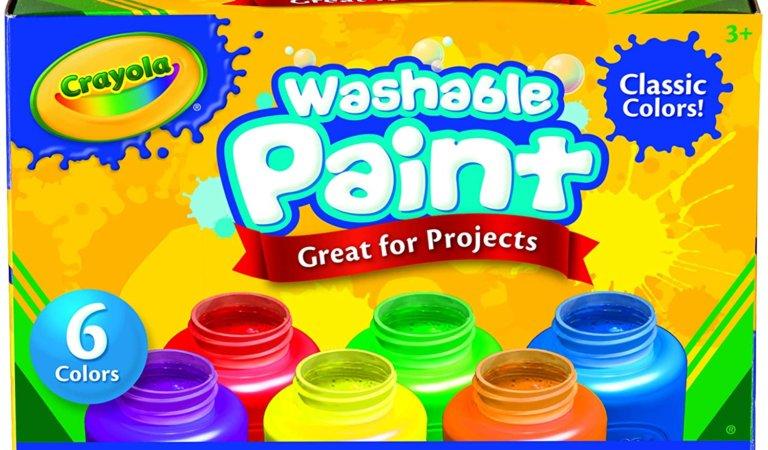 Crayola Washable Kids Paint, 6 Count Giveaway!