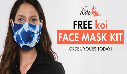 FREE koi Face Mask Kit