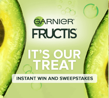 """Garnier """"It's Our Treat"""" Instant Win Game (10,150 Winners!)"""