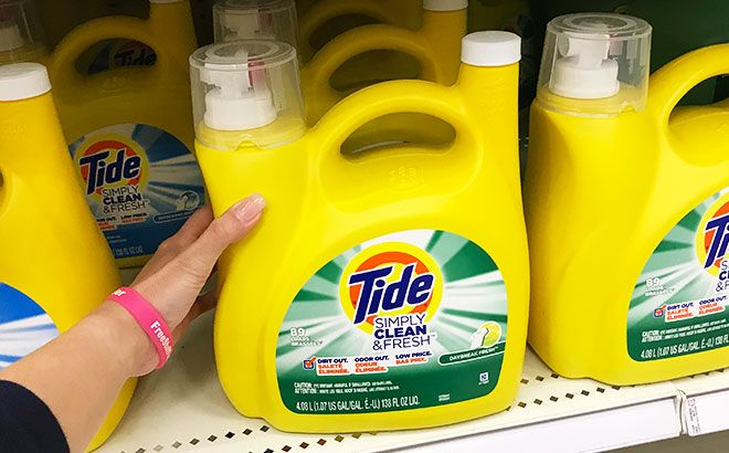 FREE Tide Liquid Laundry Detergent + FREE Shipping at Staples (New TCB Members)