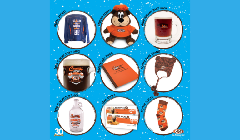 A&W's 30 Days of Giveaways 2020